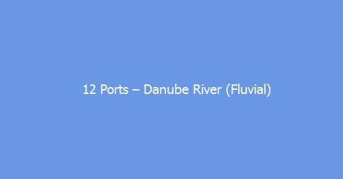 12 Ports – Danube River (Fluvial)